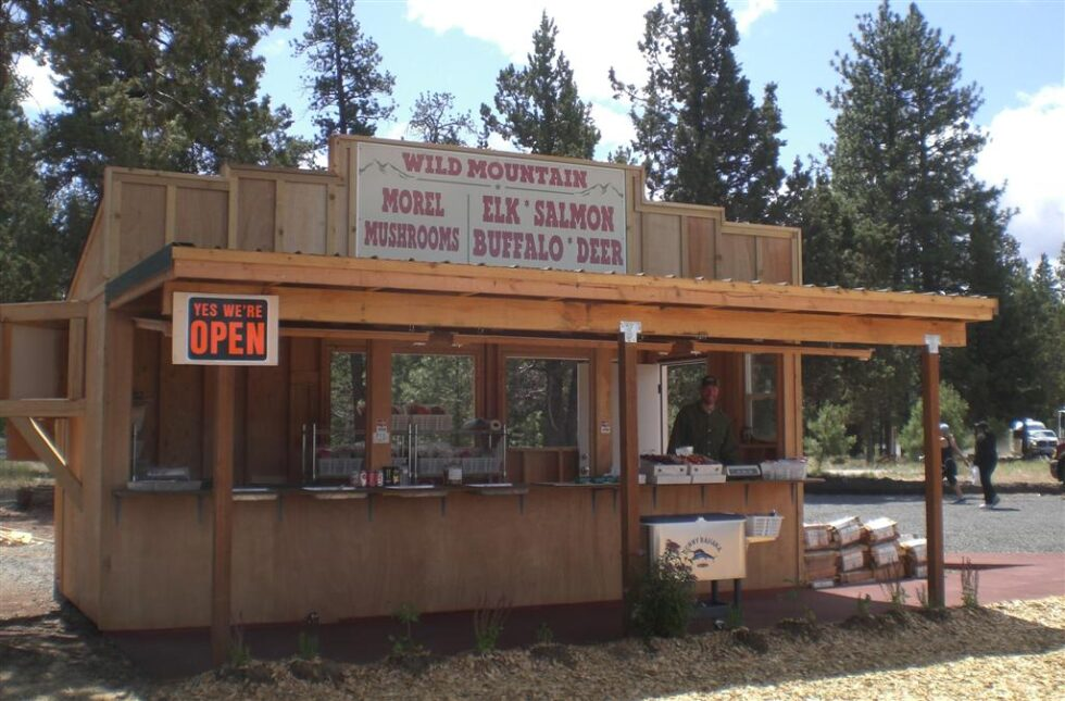 Wild Mountain Roadside Market is one of many new business in Sisters, Oregon.