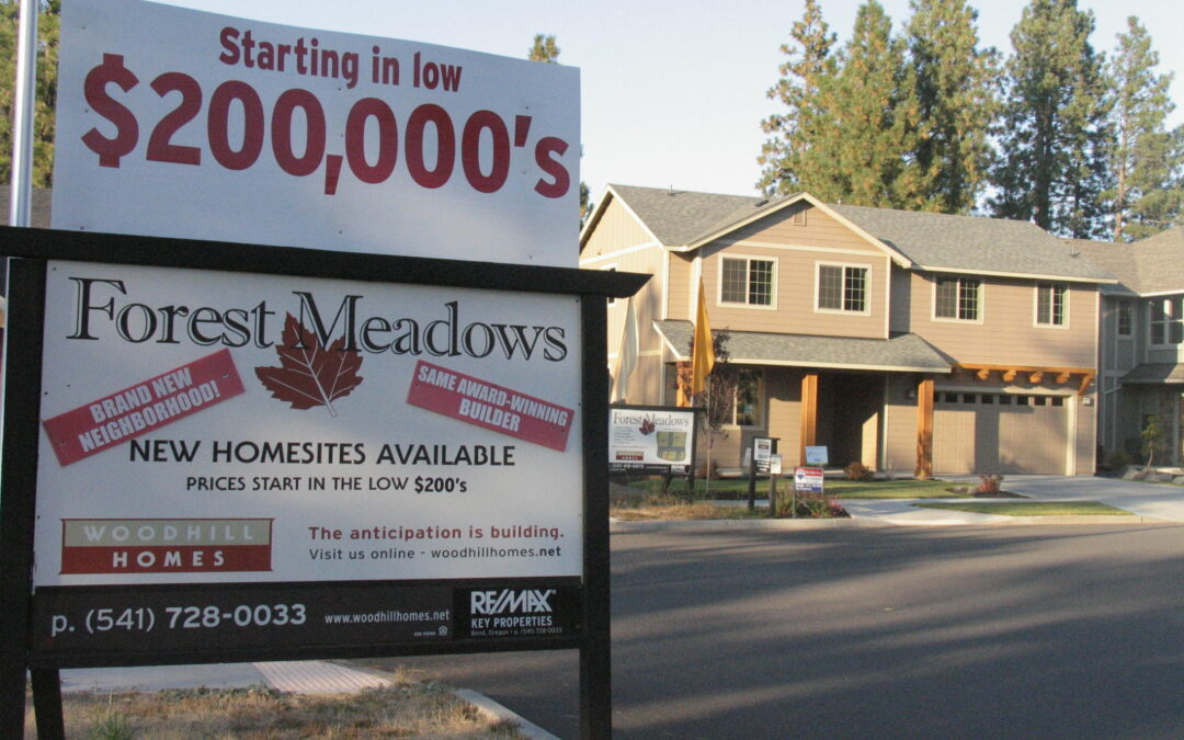 The News About New Construction in Bend