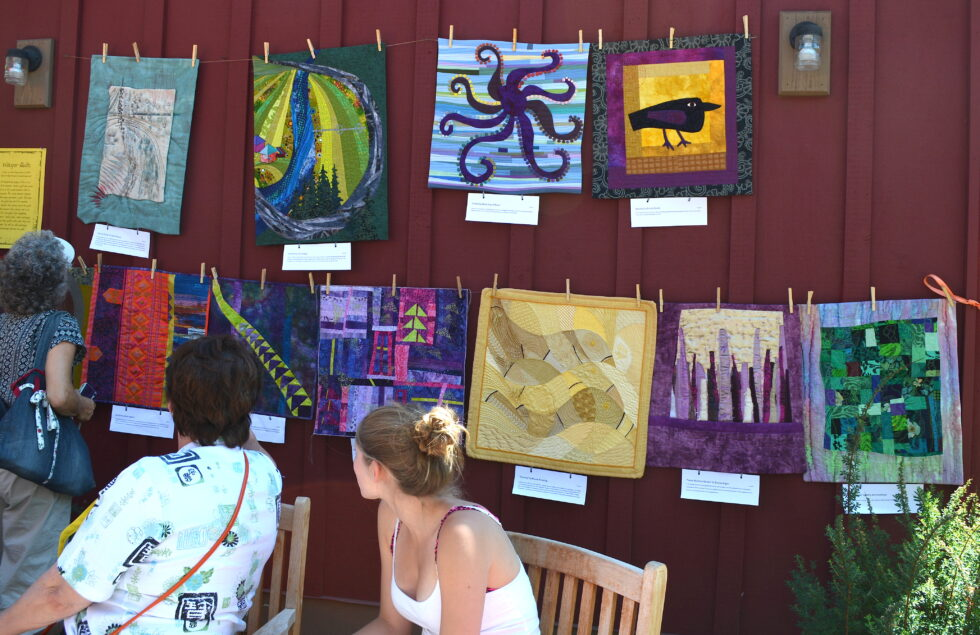 2014 Sisters Outdoor Quilt Show in Sisters, OR