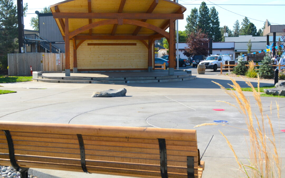 Fir Street Park Opens in Sisters, Oregon