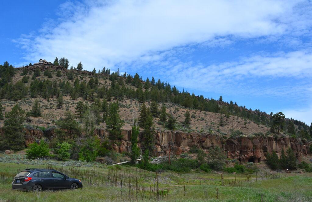 Deschutes Land Trust-Whychus Canyon Preserve parking