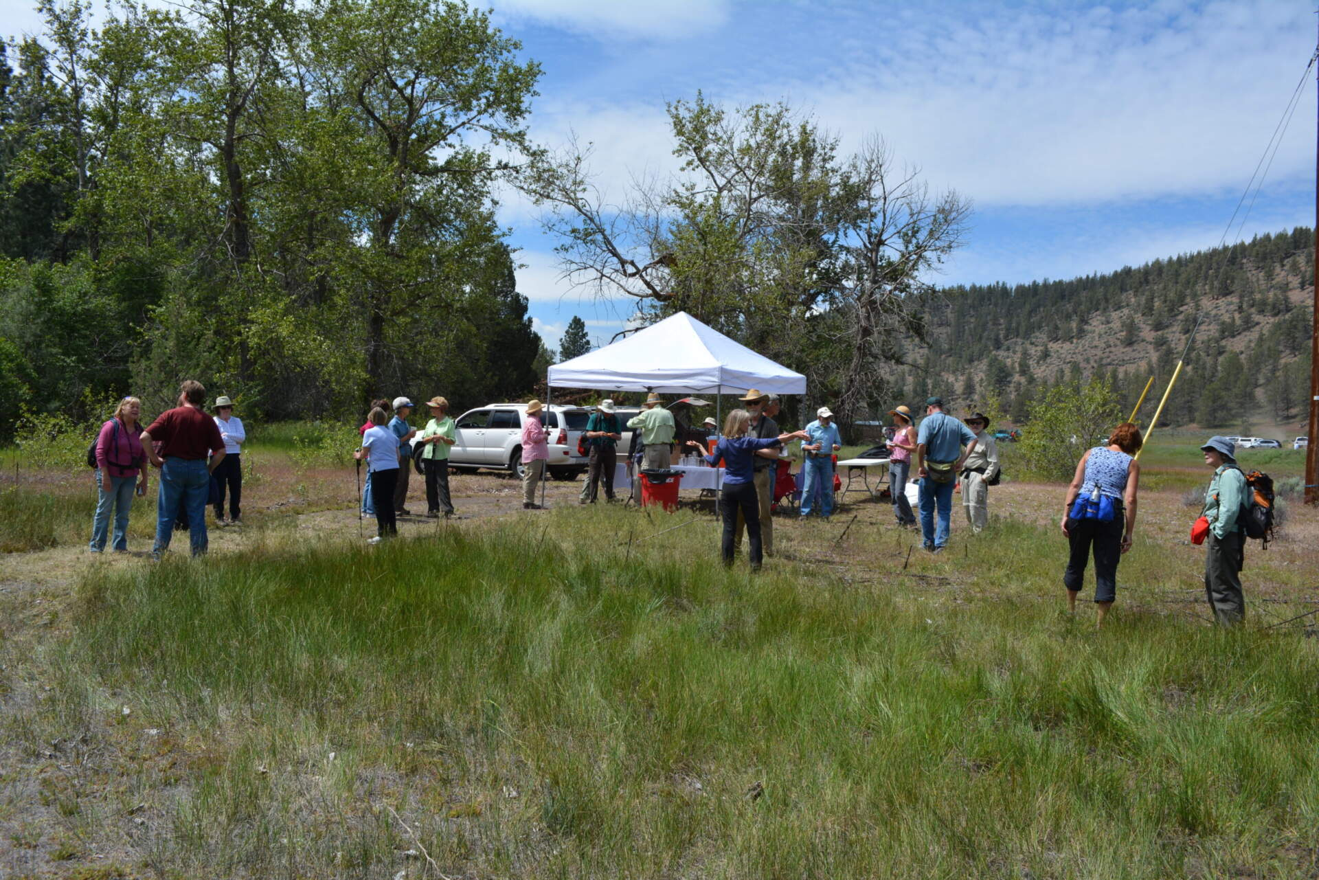 Whychus Canyon Preserve Addition Dedication Ceremony