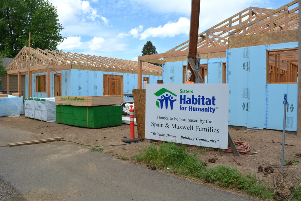 New Construction in Sisters OR-Habitat for Humanity homes