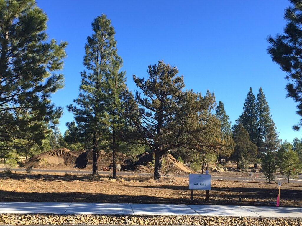 Phase I ofClearPine: A new subdivision for Sisters OR