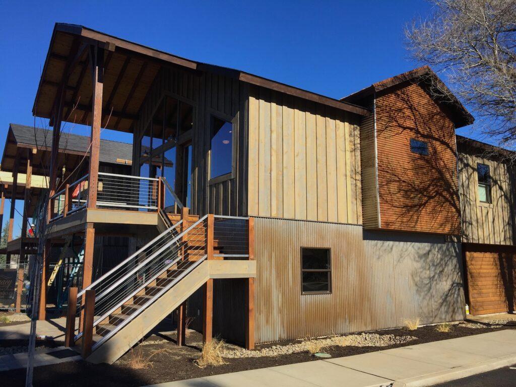 Legacy Builders new live/work space in Sisters.