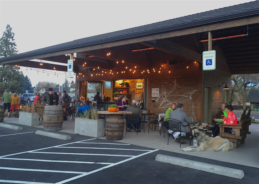 A new food-cart hangout called The Bite has opened in downtown Tumalo.