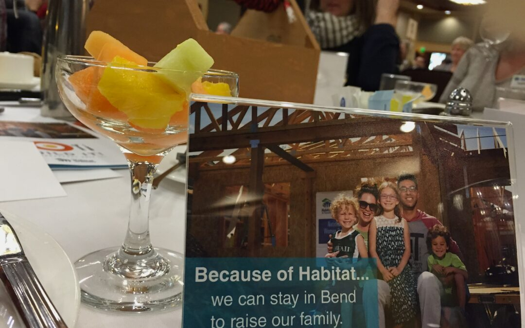 Lessons Learned at a Habitat Breakfast